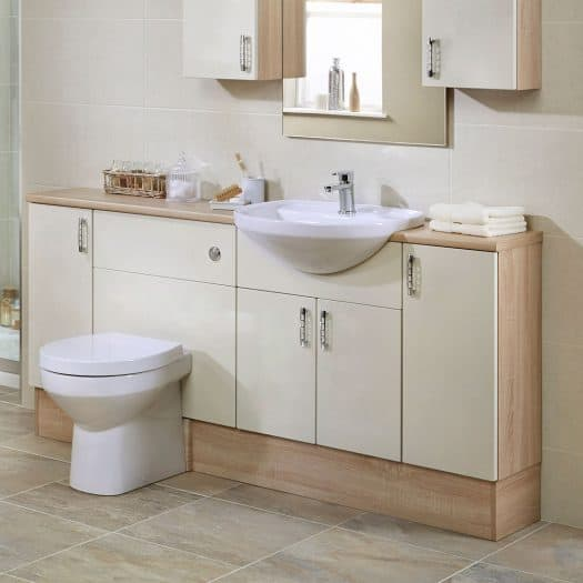 Esprit Cream Matt bathroom