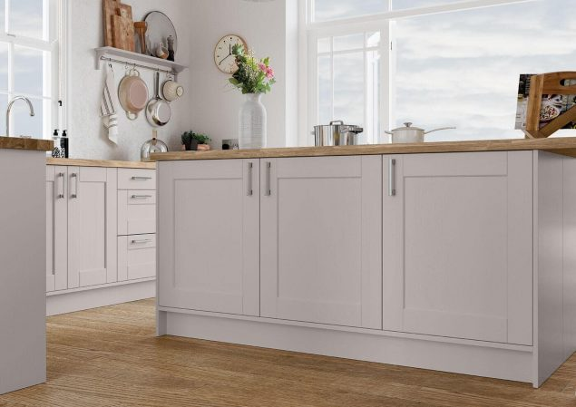 Kensington Cashmere Cameo by Avanti Fitted Kitchens Ltd