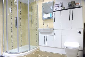 Streetly Glass Bathroom in West Midlands